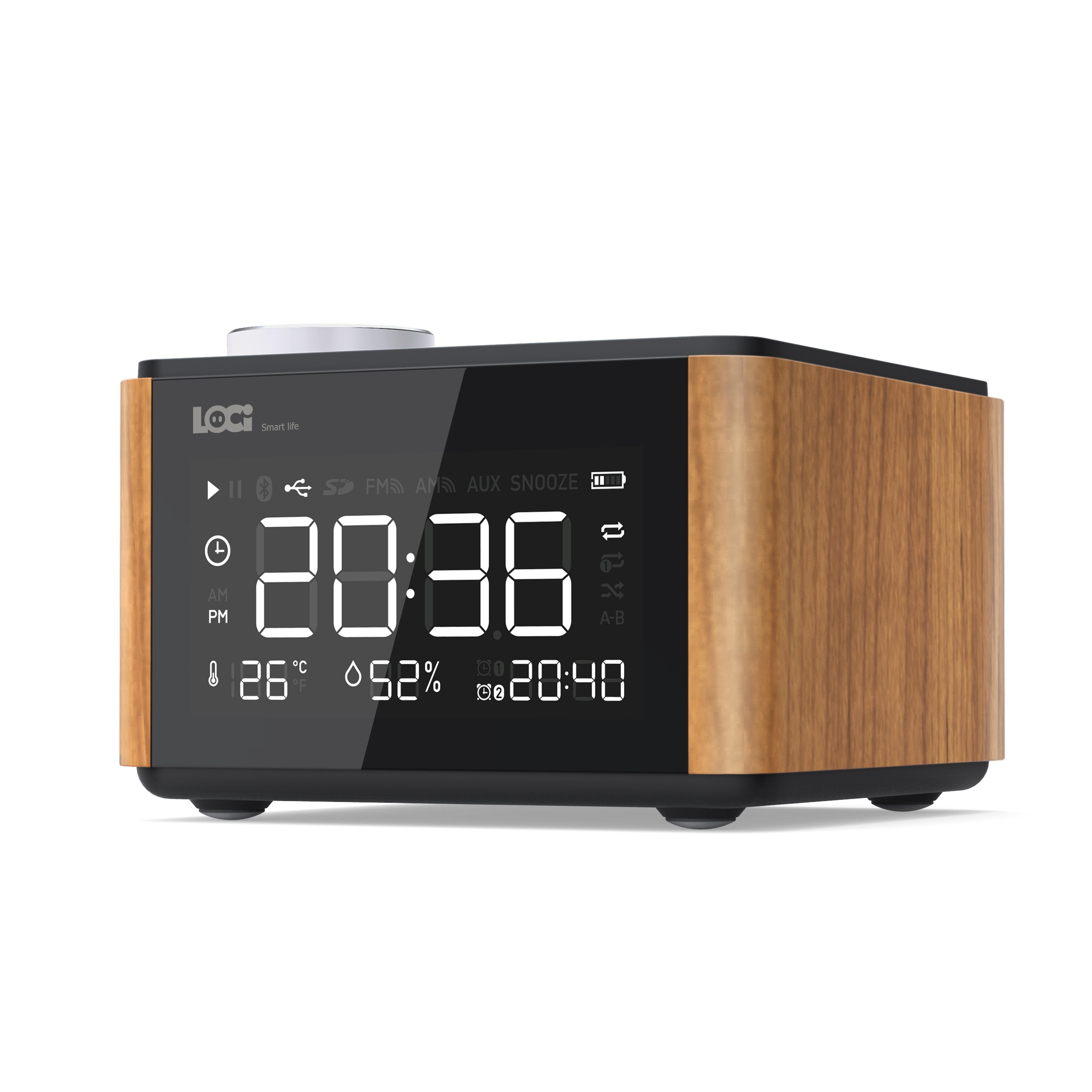 HC775HC4466 - Retro Design Radio, DAB/DAB+