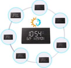 HC7688 - Wooden Clock