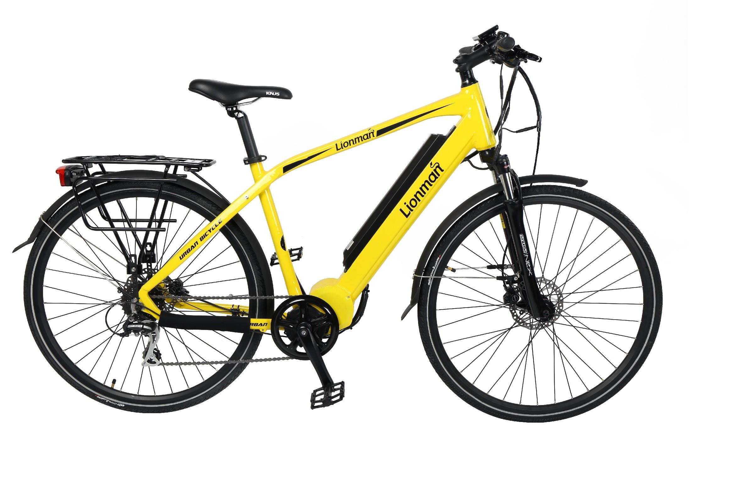 "HC81EB01 - Electric Bicycle Aluminium Frame 28"" BBS Touring -Man"