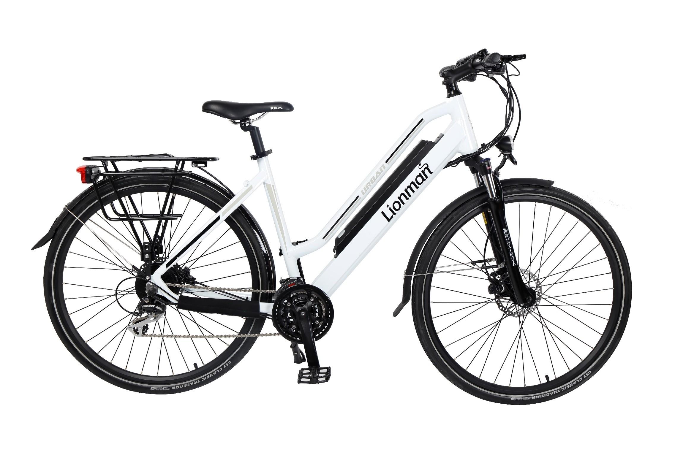 """HC83EB03 - Electric Bicycle Aluminium Frame 28"""" Touring -Unisex"""
