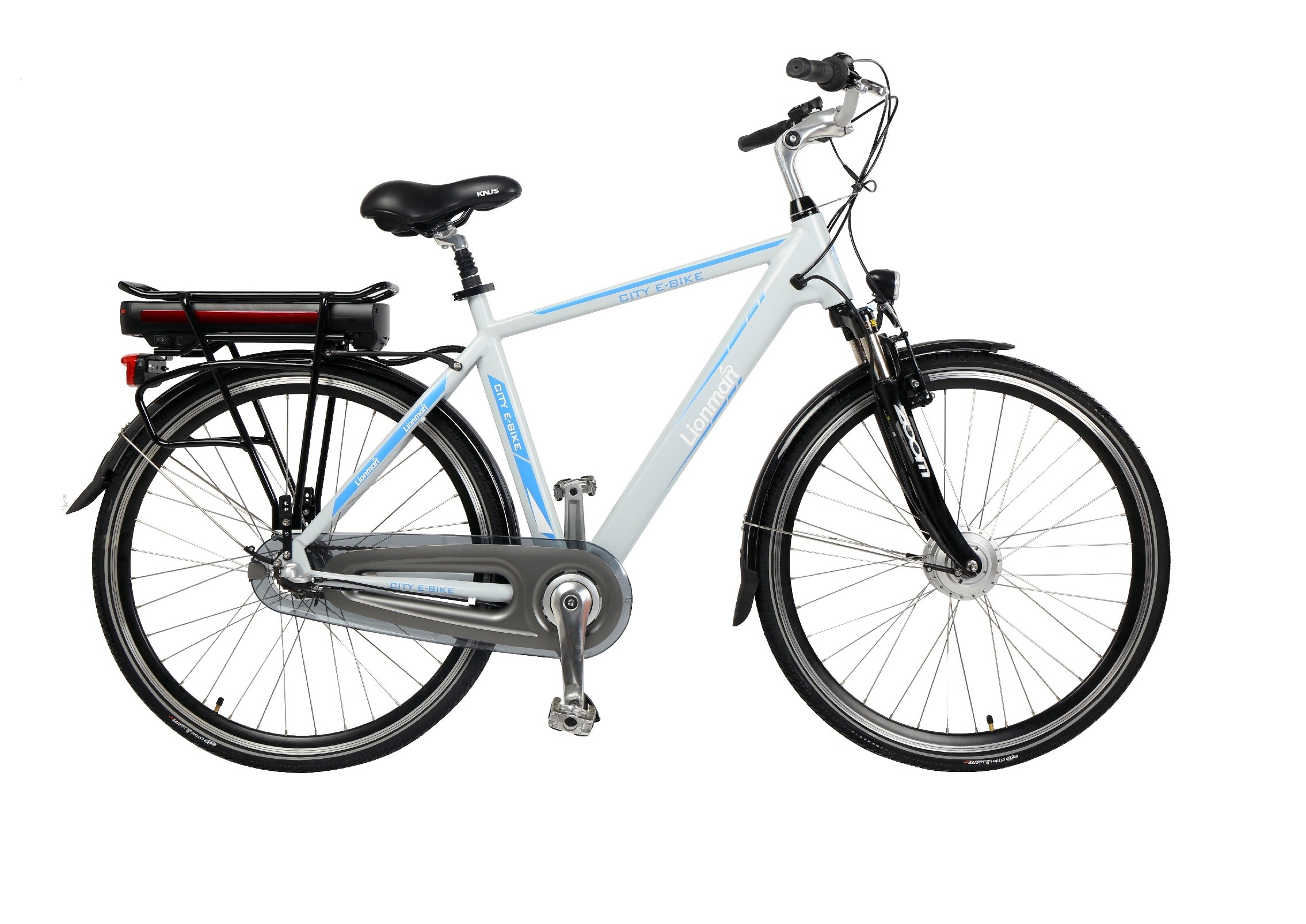 "HC86EB05 - Electric Bicycle Aluminium Frame 28"", Easy Ride -Man"