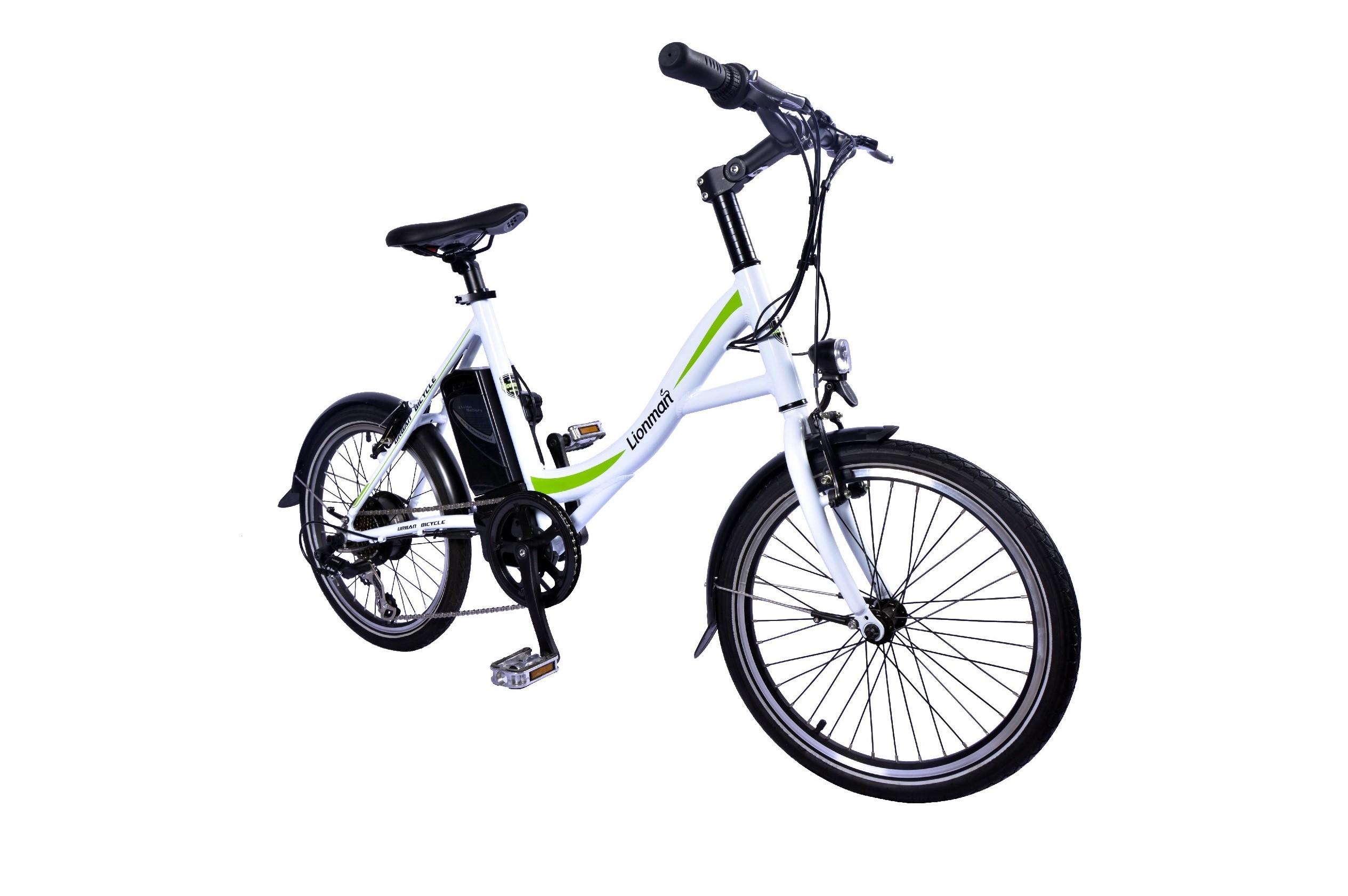 "HC77EB07 - Electric Bicycle Aluminium Frame 20"", Crossing-Unisex"