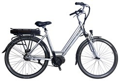 "HC85EB18 - Electric Bicycle Aluminium Frame 28"", mid-motor"