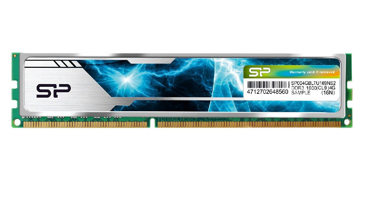 HC1296SP636 - DRAM DDR4 Heatsink DRAM - 1600 240PIN CL9 1.5V - 4GB