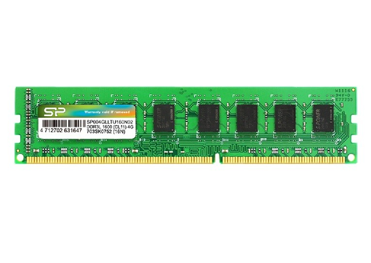 HC1302SP642 - DRAM DDR3lv Low-Voltage U Dimm - 1600-240PIN (CL11) 1.35V - 4GB
