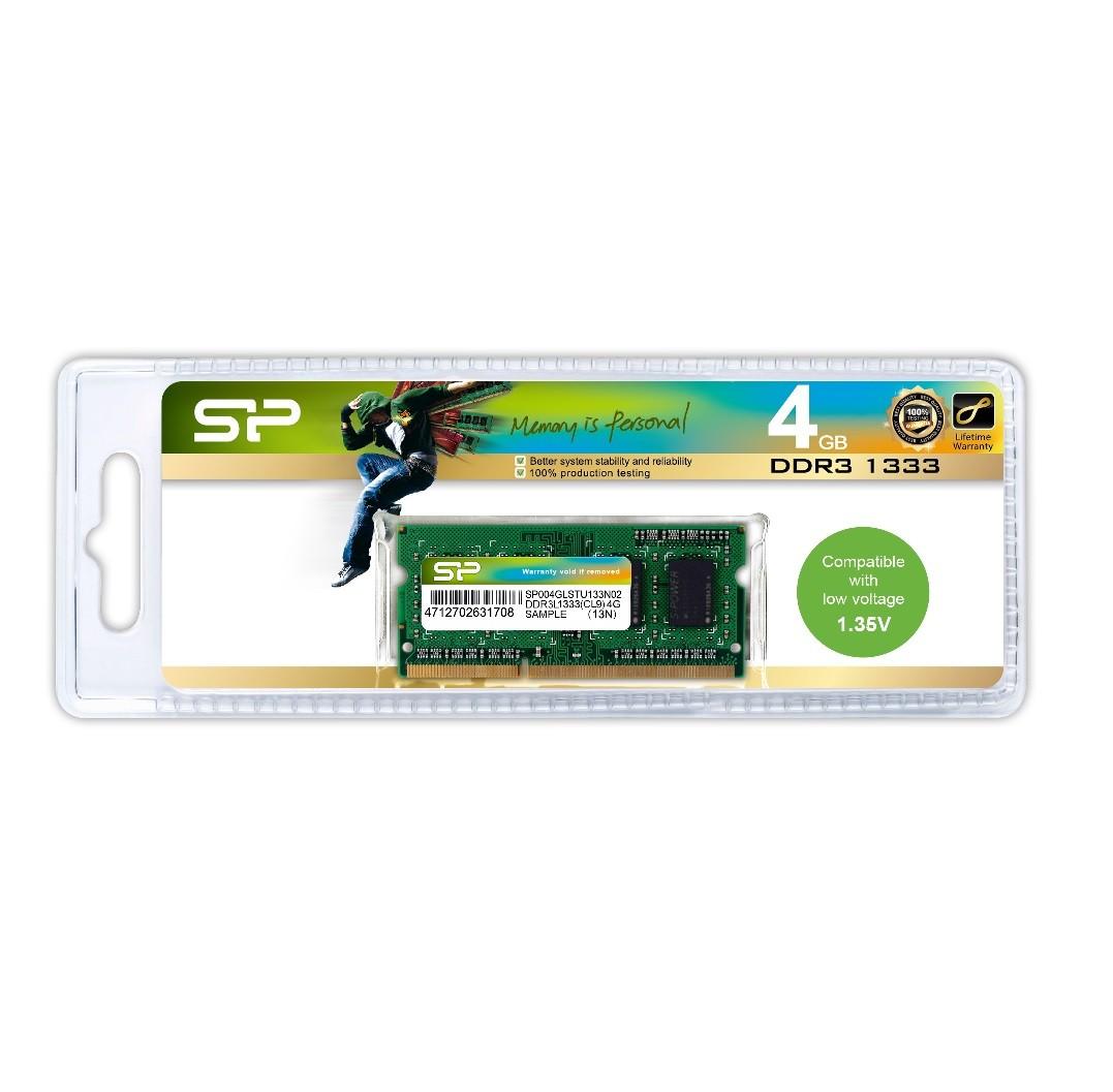 HC1310SP650 - DRAM DDR3 SO-DIMM NB - 1333 SO-DIMM - 204PIN (CL9)  - 4GB